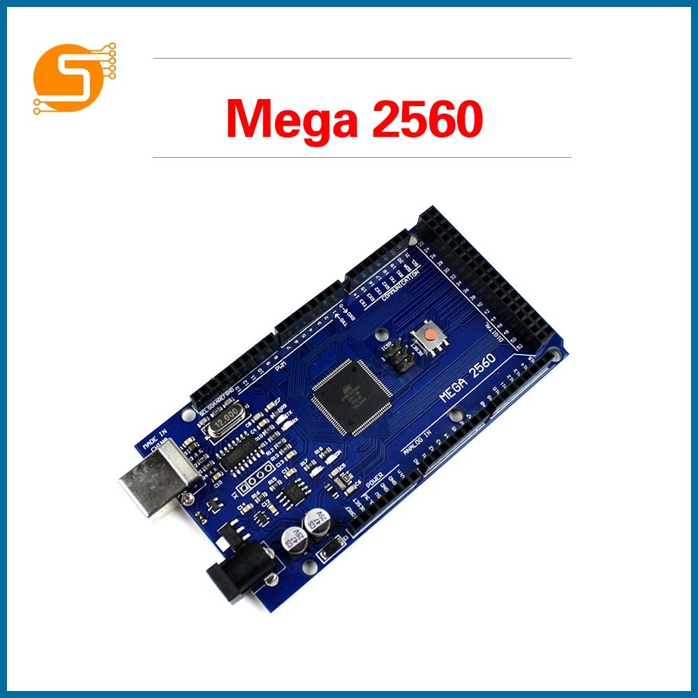 S ROBOT MEGA2560 MEGA 2560 R3 (ATmega2560-16AU CH340G) AVR USB Board Development Board MEGA2560 For Arduino EC18