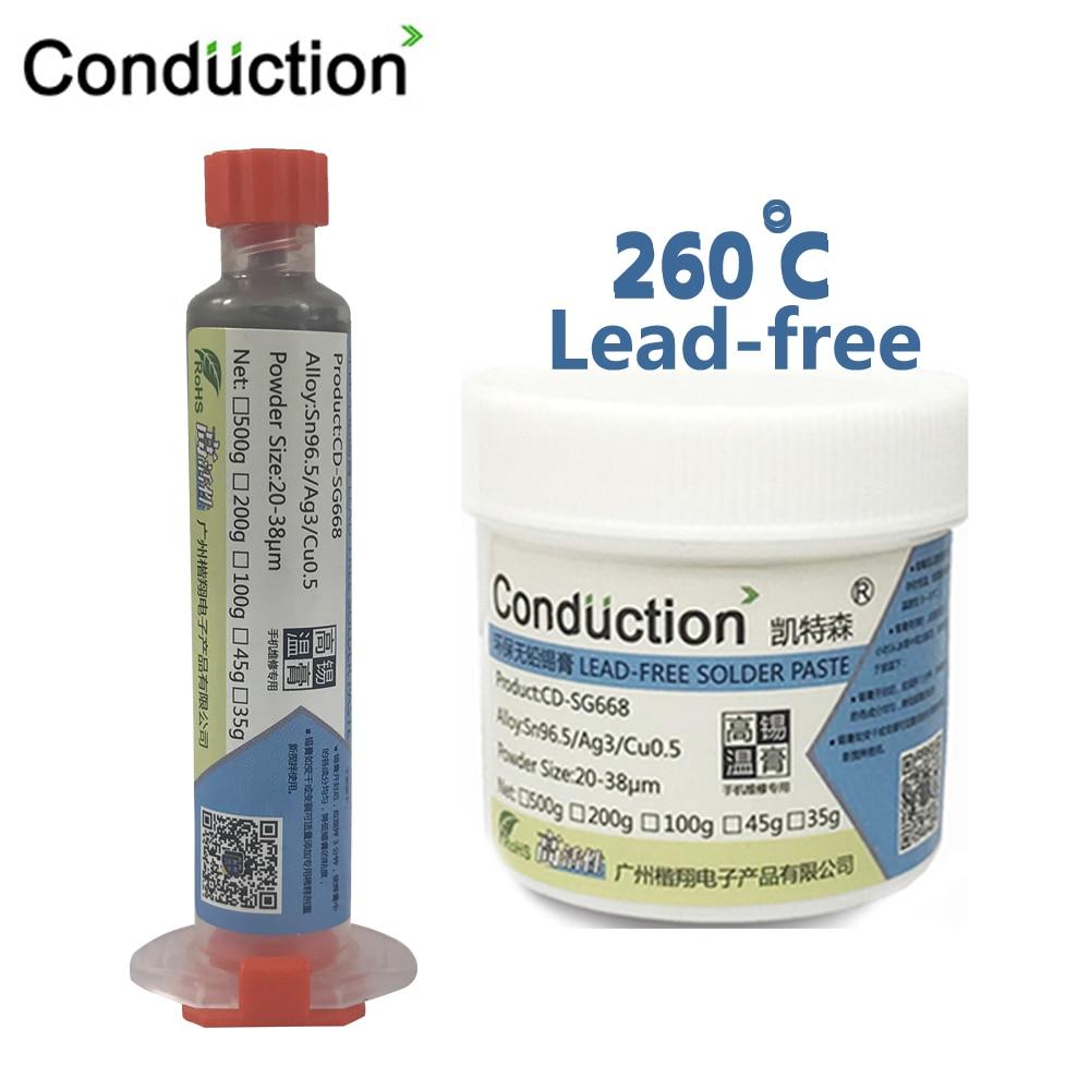 Syringe Liquid Flux BGA  Free-Lead Solder Paste Welding Tool High Temperature Melting Point 260C Tin Solder Paste 10cc No-clean