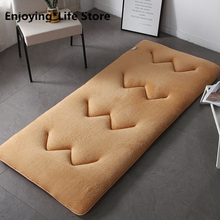2020 Tatami Mattress Thickened Bed Carpet Double Floor for Living Room Sleeping Mat Folding Mats Lazy Cushion 6cm thickness