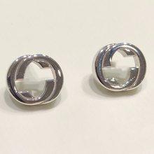 Серьги из серебра пробы 1:1 Классические глянцевые серьги в