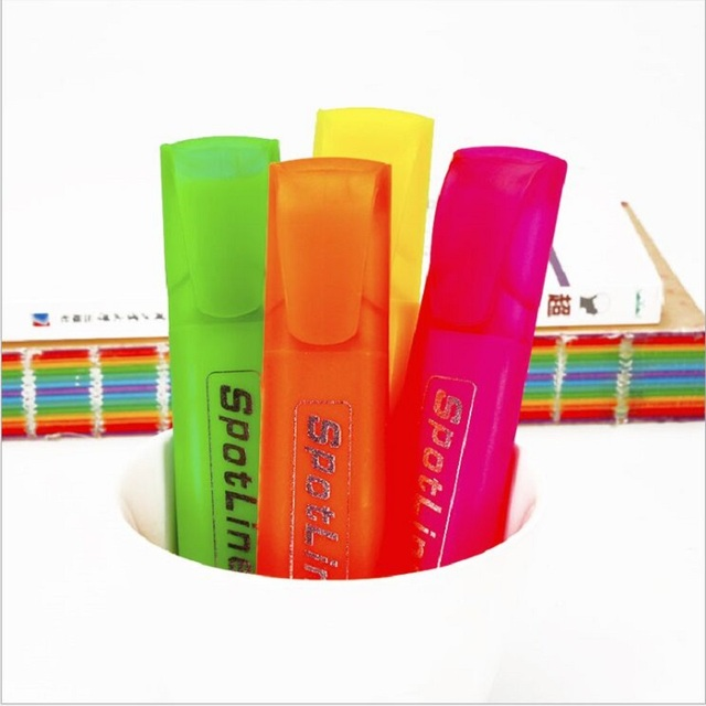 New four-color highlighter  nite writer pen stationery students' supply Advertising promotions festivals housewarming weddings