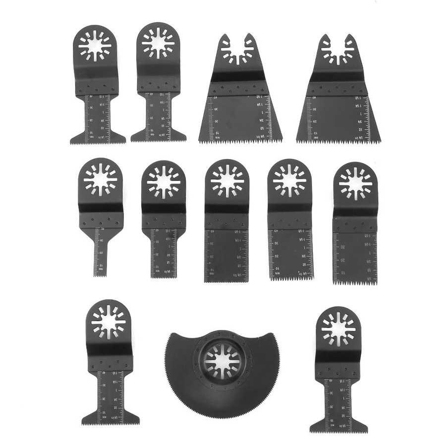 Cordless Screwdriver Power Tools 12pcs Standard Oscillating Multitool Saw Blades Power Tool Cutters Taladro Inalambrico