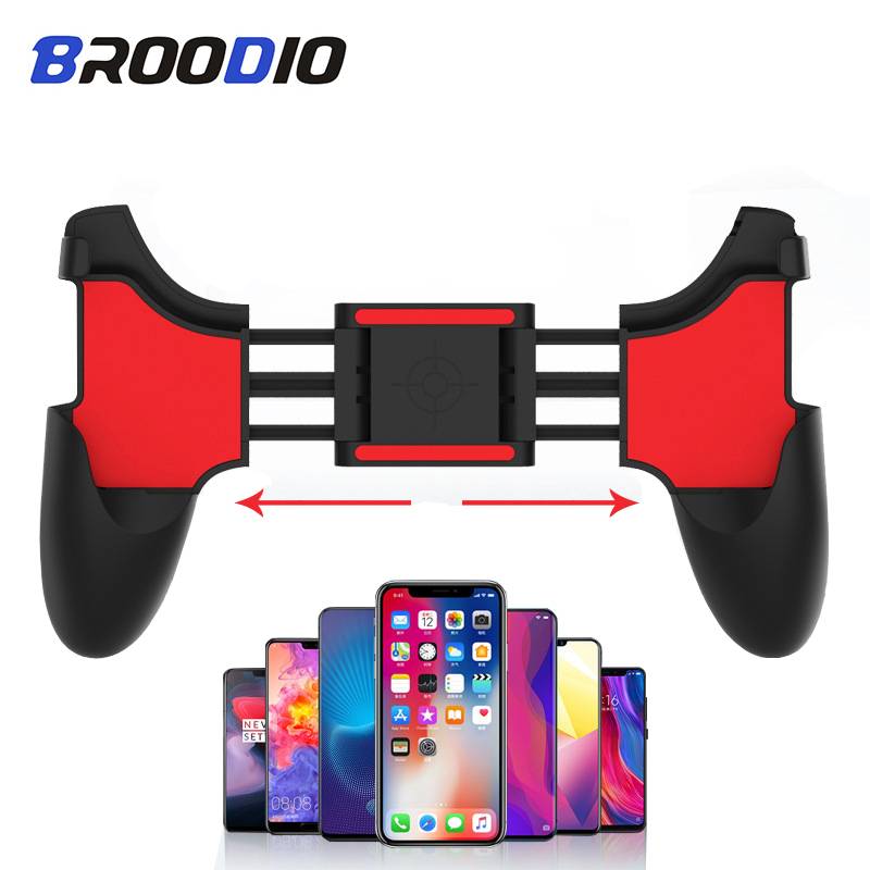 PUBG Mobile Controller Game Controller Gamepad Shooting Free Button Fold Gamepad Joystick For Android Mobile Phone Gaming handle