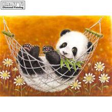 5d алмазная живопись «сделай сам» животные милая панда вышивка