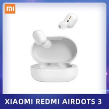Xiaomi redmi airdots 3 tws sem fio bluetooth 5.2 fone de ouvido híbrido vocalismo mi verdadeiro sem fio fone de ouvido cd-nível de qualidade de som