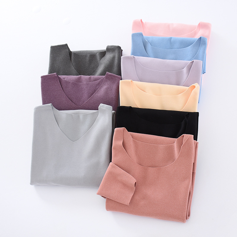 Dralon Seemless Thermal Underwear Large Elasticity Skin Fever Base Shirt Leggings Autumn And Winter COUPLE'S-Free Ride