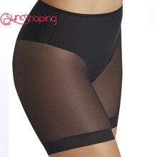 Mulheres corpo shaper magro briefs cintura alta barriga calças de emagrecimento roupa interior forma vestir novo feminino cor sólida corpo shapers