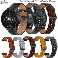 22mm Echtes Leder Armband armband Für Xiaomi MI Uhr Farbe Armband Schnell Releas Armband Für Amazfit GTR 2e /GTR 47mm gürtel