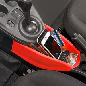 Image 4 - Caixa de armazenamento do centro do braço do carro para smart 453 fortwo forfour 2015 2019 recipiente luva organizador automático para mercedes acessórios