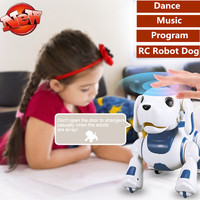 Remote Control Robot Dog Toy Intelligent robot dog educational toy dance singing Music speak english speak story rc robot toy to