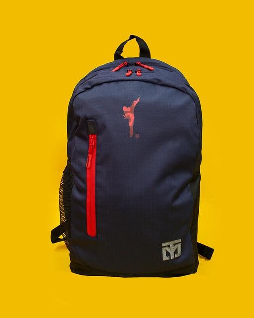 حقيبة ظهر من موتو التايكوندو ، شنطة ترويجية S2 التايكوندو ، عبوة معدات واقية من اثنين من الكتفين Tae kwin do