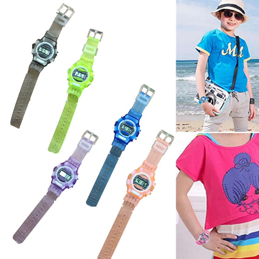 Digital Watch Kids Girl 2019 Children Girls Analog Digital Sport LED Electronic Waterproof Wrist Watch New Relogios Digitals