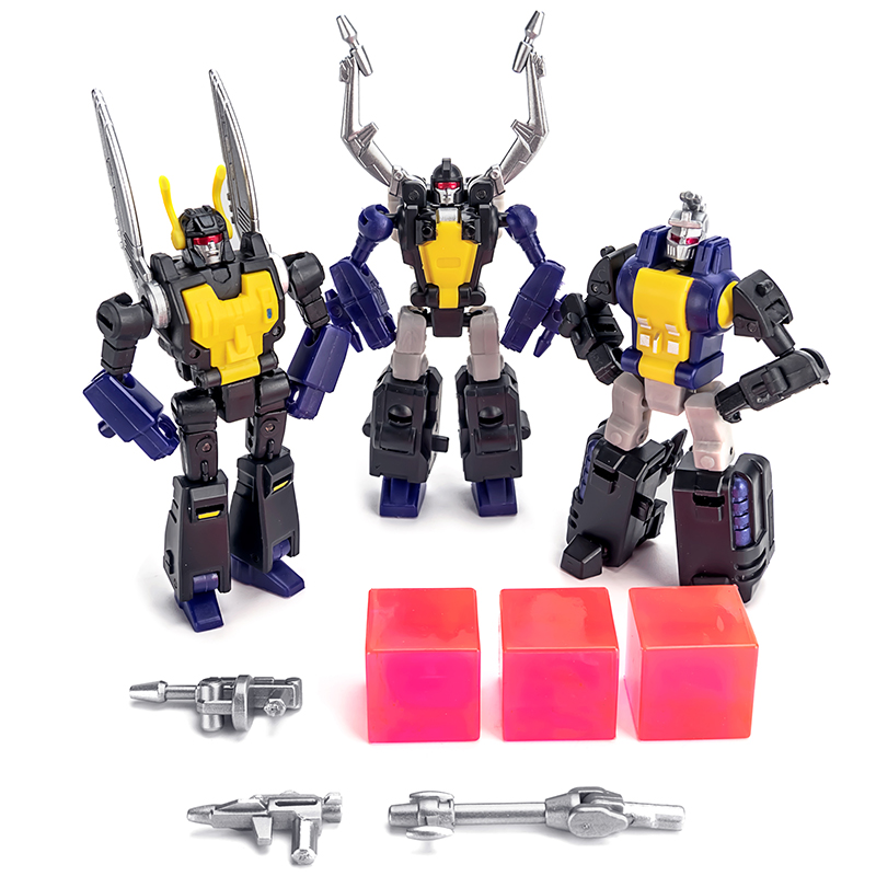 Newage NA Transformation Insecticon H10 H11 H12 KICKBACK SHRAPNEL Bombshell Sets Action Figure Mini Robot Toys