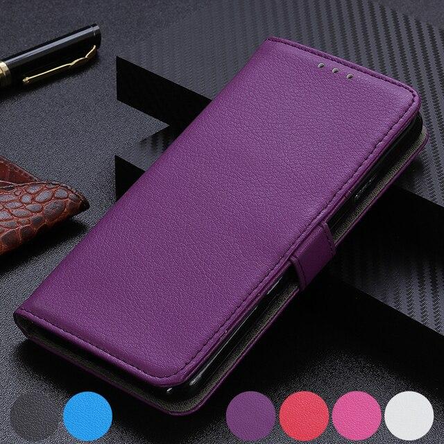 Liczi odwróć PU skórzany stań gniazda kart portfel pokrywy skrzynka dla Sony Xperia 20/Xperia 10/Xperia 1 /Xperia 2/L3 XZ4 XZ4 XZ3 XZ2 Premium XA2 Plus