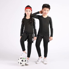 Childrens sportswear running basketball suit football sports fitness gym jogging sportstement