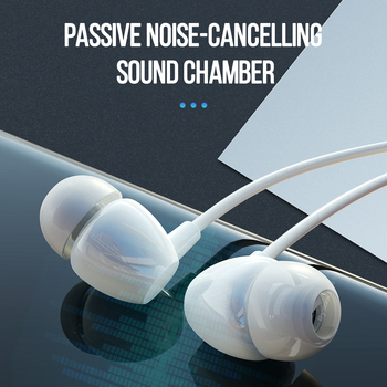 цена на 3.5mm In-ear Earphone Stereo Earphones Noise Reduction with Microphone Sport Gaming Wired earphone for iPhone Xiaomi Samsung LG