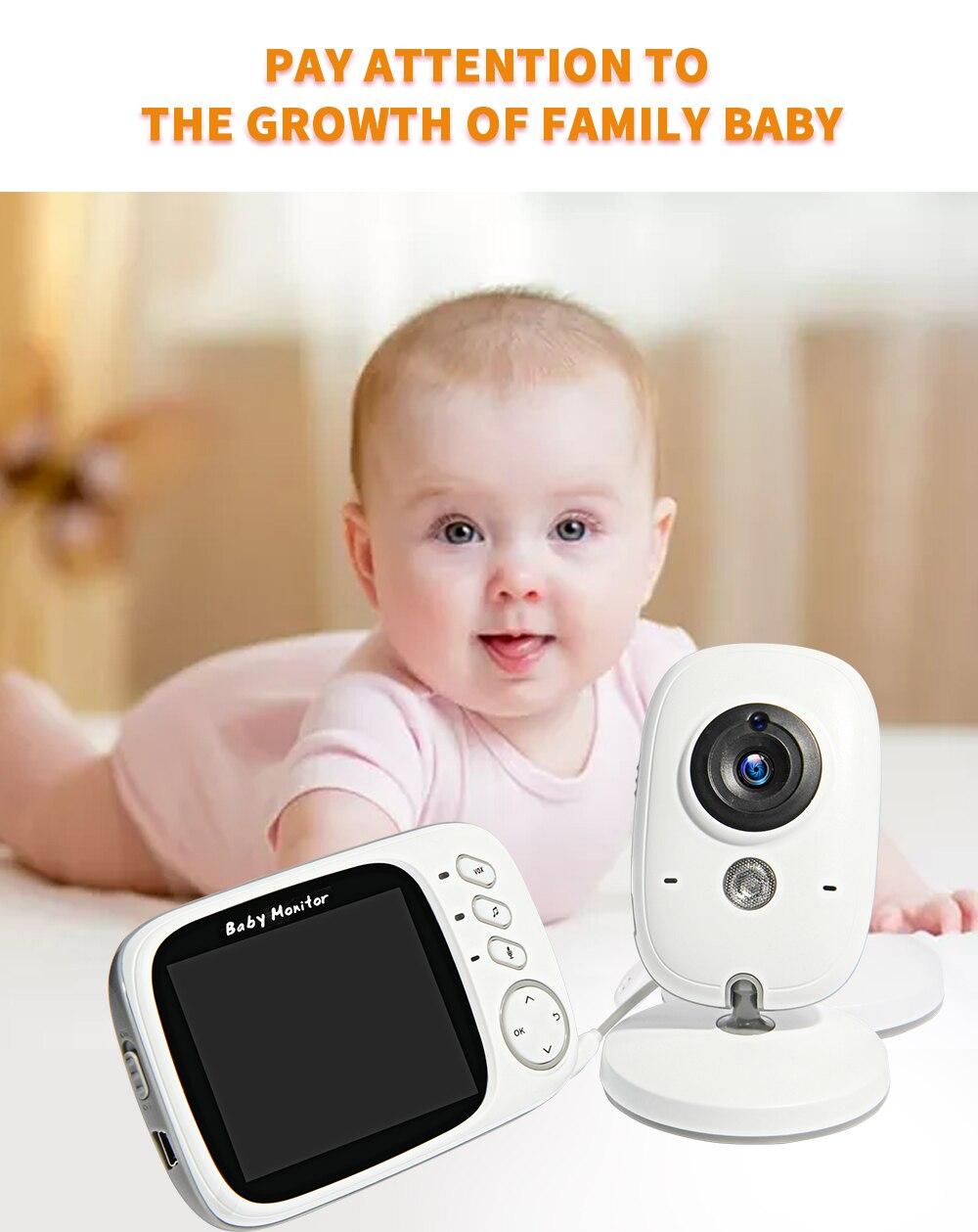 3.2 polegadas de Alta Resolução Baby Nanny