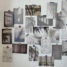 30 unids/set bien INS decoración de arte de la tarjeta luz sombra Fondo fotografía apoyos de la foto de la pared de habitación etiqueta papelería creativa