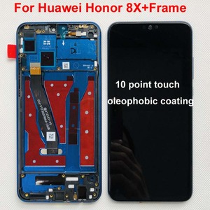 Image 4 - Original Display For 6.5 Huawei Honor 8X JSN AL00 JSN L22 JSN L21 Full LCD DIsplay +Touch Screen Digitizer Assembly With Frame