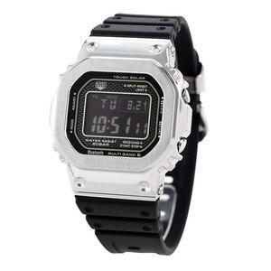 Image 5 - 316l pulseira de aço inoxidável moldura/caso dw5600 GW M5610 pulseira de metal aço cinto ferramentas para masculino/feminino presente relógio banda gw b5600