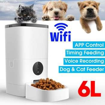 Large 6L Capacity Pet Automatic Feeder Food Dispenser  1