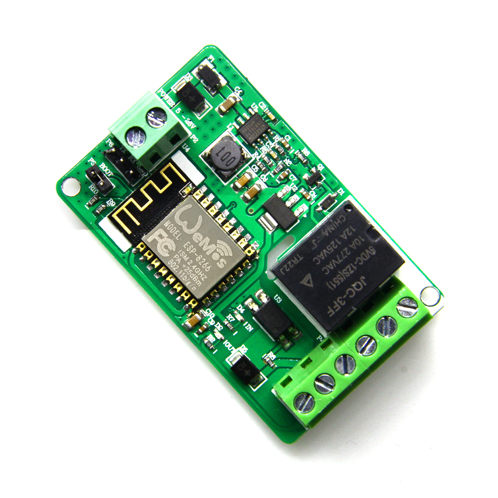 Taidacent DC 7V To 30V Wifi Network Home Automation Switch Board Modules 10A 220V Automation Relay Board Esp8266 Relay Board