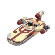 Seria wars X-34 Soro Suub Tan MOC Land speeder walka klocki liga bohater rysunek sterowiec kosmiczne wojny zabawka