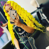 Yellow Pink Wig Deep Wave Lace Front Wig Honey Blonde Human Hair Wig Transparent Lace Frontal Wig Peruvian Virgin Hair Wig Atari