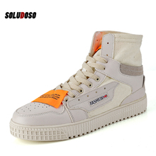 Unisex spring autumn Fashion Sneakers Men Canvas Shoes High top Male Brand Footwear Men's Casual Shoes Fashion Black Sneakers