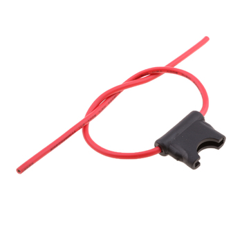 Inline ATC/ATO Blade Fuse Holder Wire Lead RV Boat Car Accessories image