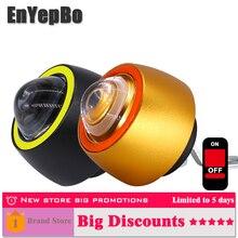 EnYepBo 2PCS Motorcycle Light DC 12V Angel eye Spotlight Daytime Running Lights DRL Flashing Accessories
