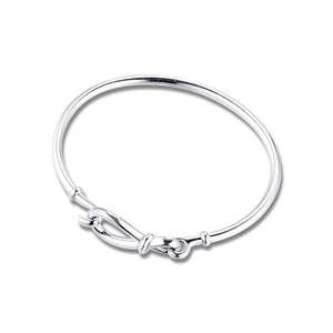 Infinity Knot Bangle for Women