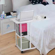 Home Office przenośny mobilny blat stołu Sofa kanapa na rolkach Laptop biurko narzędzia