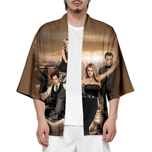 Gossip Girl Oversize Japanese Kimono Men Samurai Costume Clothing Loose Anime Clothes Male Casual Outerwear