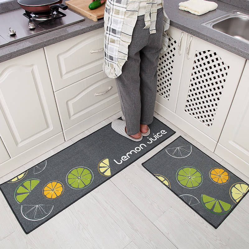Kitchen Mat Anti-Slip Carpet  Wateproof Kitchen Mat Bathroom Carpet Room Pad Floor Mat Home Floor Mats