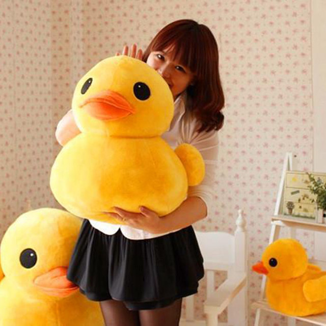 Kawaii Jumbo Duck Plush (40cm) – Limited Edition