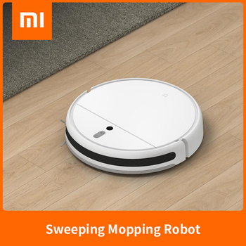 Robot aspirador XIAOMI MIJIA Mi, aspirador 1C para el hogar, esterilizador automático de polvo, 2500PA, succión ciclónica, WIFI planificado inteligente