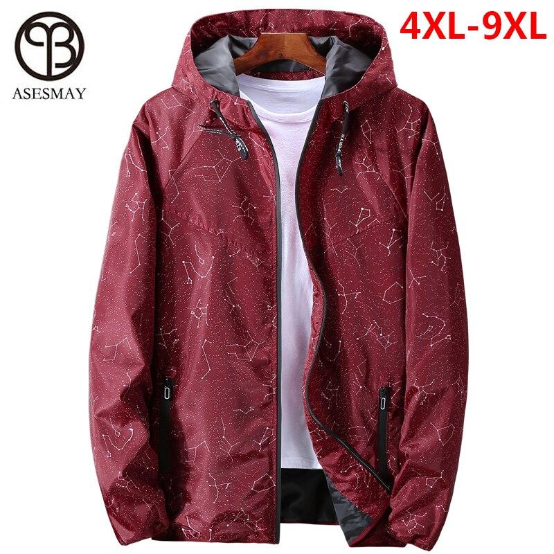 Jacket Men Waterproof Outerwear Hoodies Windbreaker Casual Coats Spring Brand-Clothing