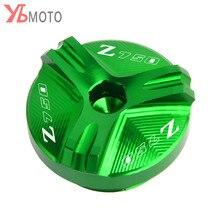 Flash Offerte PER KAWASAKI Z750/S 2004 2005 2006 2007 2008 2009 2010 Accessori Moto CNC Tappo Olio spina Con Logo