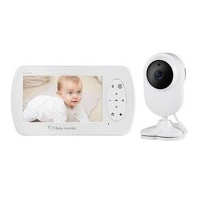 Baby Camera walkie talkie bebe lloron BM520 4.3 inch cry babies LCD IR Night Vision 2 way Talk Temperature baby sense monitor