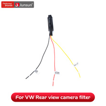 Achteruitrijcamera Filter Timer Relais Voor Vw Passat Tiguan Golf Touran Jetta Pq Mib Conversie Kabel