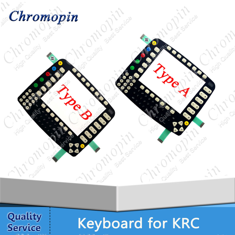 Membrane Keyboard original for KUKA for KR C1 KCP 64-000-348 KCP KRC1 64-000-348  replacement 10 inch switch