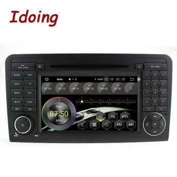 "Idoing 7""2Din Andriod 9.0 Car Radio DVD Multimedia Player For Mercedes-Benz W164/X164 PX5 4G+64G 8Core IPS Screen GPS Navigation"