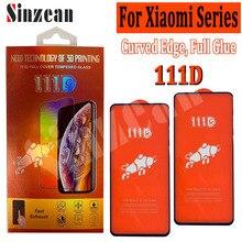 50pcs For Xiaomi Redmi 9/Note 8T/Note 8 Pro/Redmi 8A Pro/7A/6A/Redmi 7/Note 6 Pro/Note 7 Pro 111D Full Cover Tempered Glass