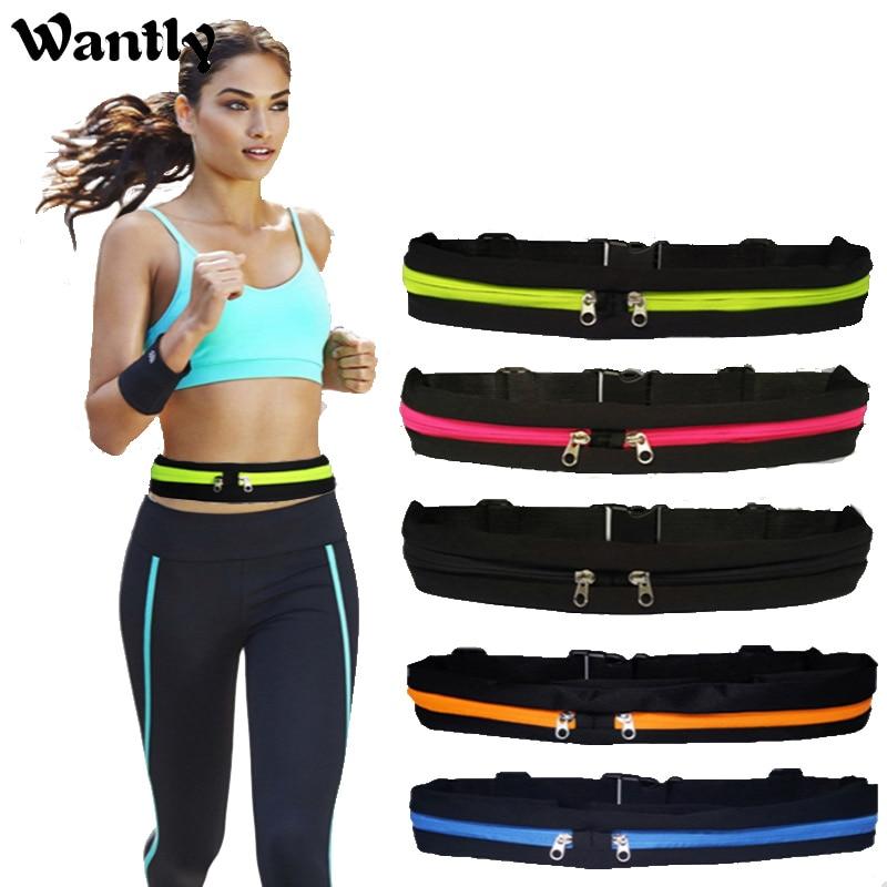 Waterproof Running Waist Belt Bag Multifunctional Men And Women Running Cycling Bum Bag Outdoor Phone Anti-theft Pack Belt Bags