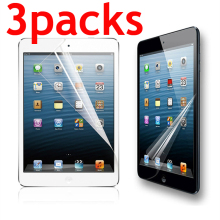 3 упаковки ПЭТ мягкая защитная пленка для экрана для Ipad 2, 3, 4 air pro 9,7 10,2 10,5 Мини-Платье на возраст 1, 2, 3, 4, 5, Защитная пленка для Apple Ipad