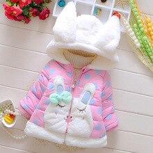 תינוק בנות מעיל 2019 סתיו חורף מעילי בנות ילדי הלבשה עליונה חמים מעילי עבור בנות ילדים בגדי 1 2 3 שנה