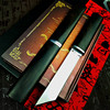 PEGASI  Thickened mirror sharp samurai sword high quality outdoor hunting straight tactical knife collection gift knife 1