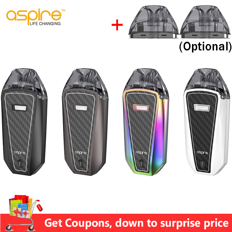 Aspire AVP Pro Kit 1200mAh Battery 4.0ml AVP Pro Pod With 0.65ohm Mesh Coil 1.15ohm Coil Electronic Cigarette Vape Kit