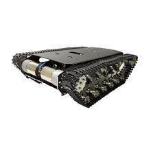 10кг нагрузки металлическая подвеска гусеничный танк шасси амортизация автомобиля робота гусеницы для Arduino DIY частей